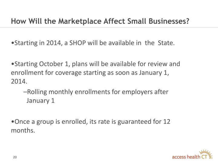 How Will the Marketplace Affect Small Businesses?