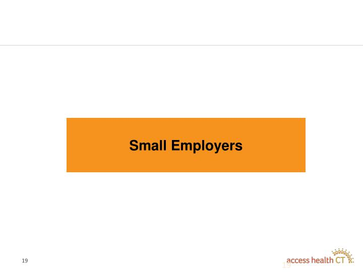 Small Employers