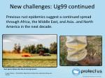 new challenges ug99 continued