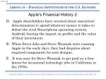 apple s financial history 2