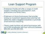 loan support program
