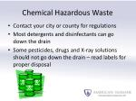 chemical hazardous waste