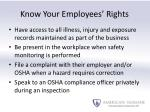 know your employees rights1