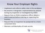 know your employer rights