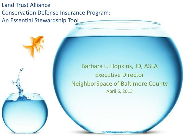 land trust alliance conservation defense insurance program an essential stewardship tool n.