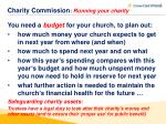 charity commission running your charity1