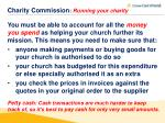 charity commission running your charity3