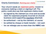 charity commission running your charity4