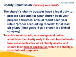 charity commission running your charity5