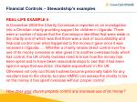 financial controls stewardship s examples3