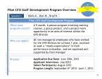 pilot cfo staff development program overview