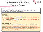 a example of surface pattern rules1