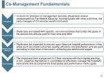 co management fundamentals
