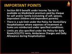 important points1