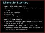 schemes for exporters1