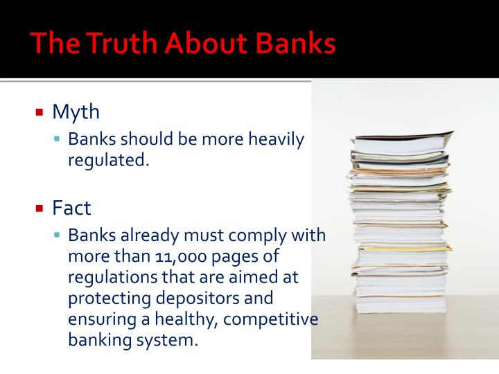 The Truth About Banks