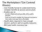 the marketplace get covered illinois