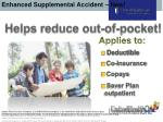 enhanced supplemental accident new