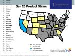 gen 25 product states