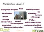 what constitutes a disaster1