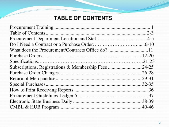 University of houston clear lake procurement training