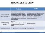 federal vs state law1