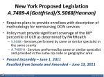 new york proposed legislation a 7489 a gottfried s 5068 hannon