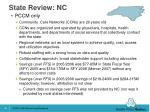 state review nc