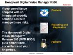 honeywell digital video manager r5001