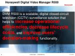 honeywell digital video manager r5002