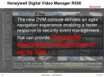 honeywell digital video manager r5004