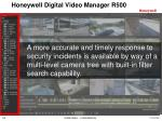 honeywell digital video manager r5007