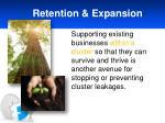 retention expansion