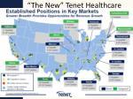 the new tenet healthcare