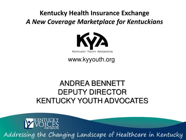 kentucky health insurance exchange a new coverage marketplace for kentuckians n.