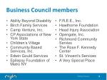 business council members