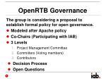 openrtb governance