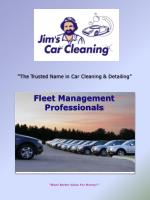 the trusted name in car cleaning detailing