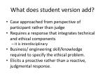what does student version add