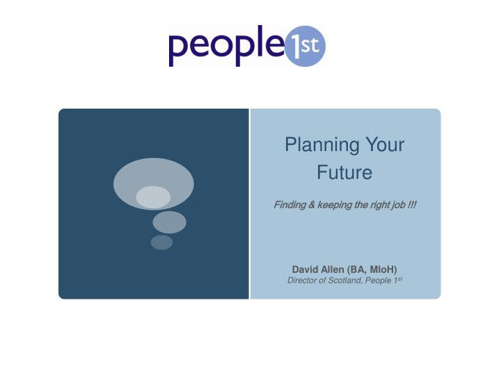 planning your future n.