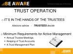 trust operation