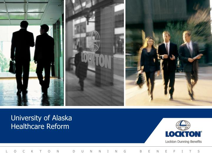university of alaska healthcare reform n.