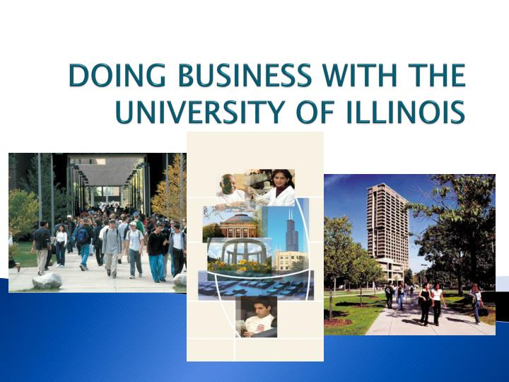 doing business with the university of illinois n.