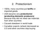 2 protectionism