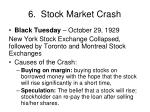 6 stock market crash