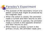 faraday s experiment