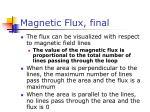 magnetic flux final