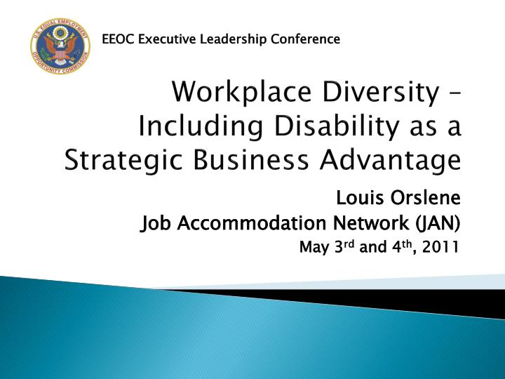 workplace diversity including disability as a strategic business advantage n.