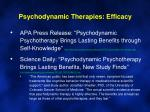 psychodynamic therapies efficacy1