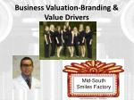 business valuation branding value drivers1